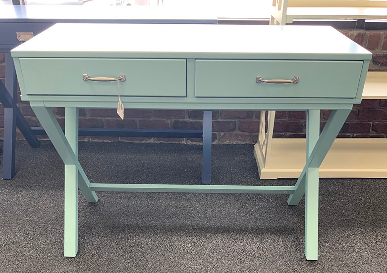 Penny desk turquoise
