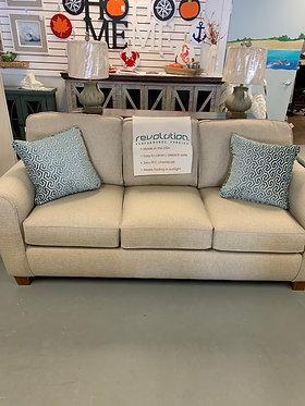 Annabel Sofa Rolled Arm Sofa (Linen)