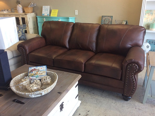 Noble Leather Sofa