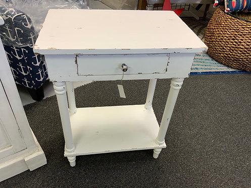 Chapel Side Table White 63451