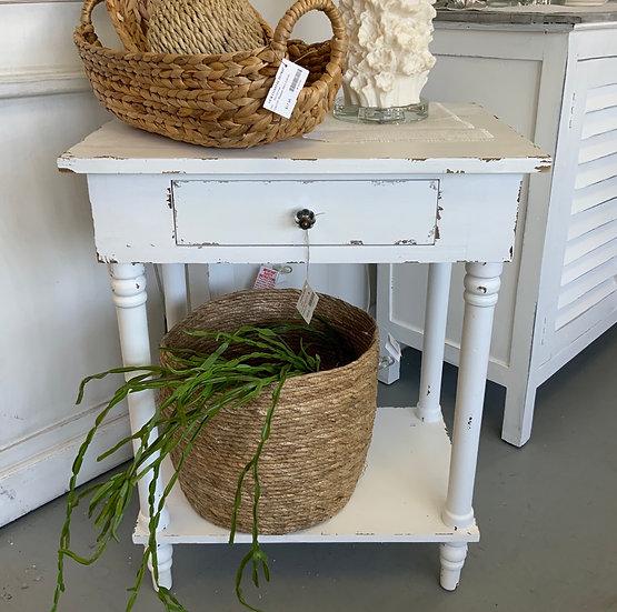 Chapel Side Table White