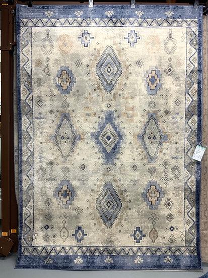 Indigo area rug