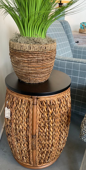 Sq round woven table