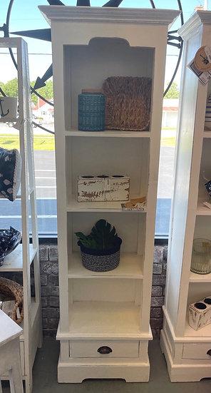 Small bookcase whitewash