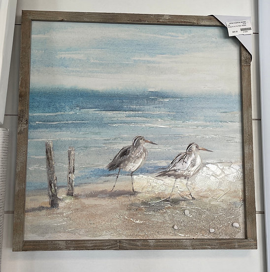 Seagulls by the sea l