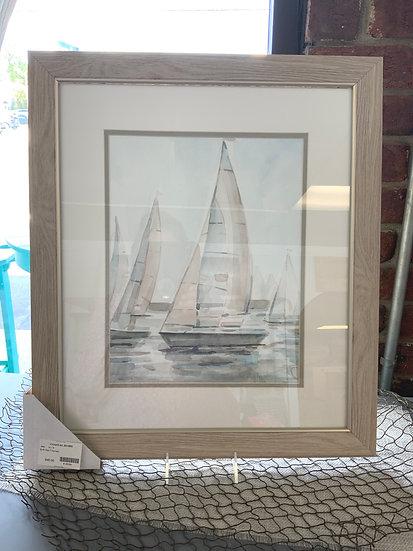 Soft sail framed
