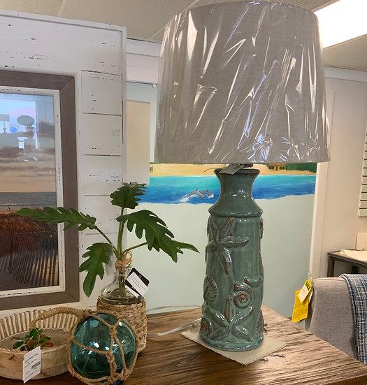 Nautical ceramic lamp