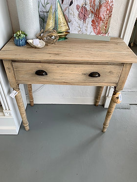 Hall Table Drawer Driftwood
