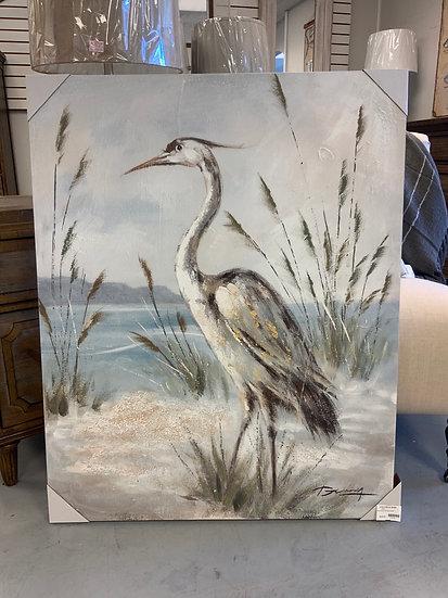 Shore Bird Canvas