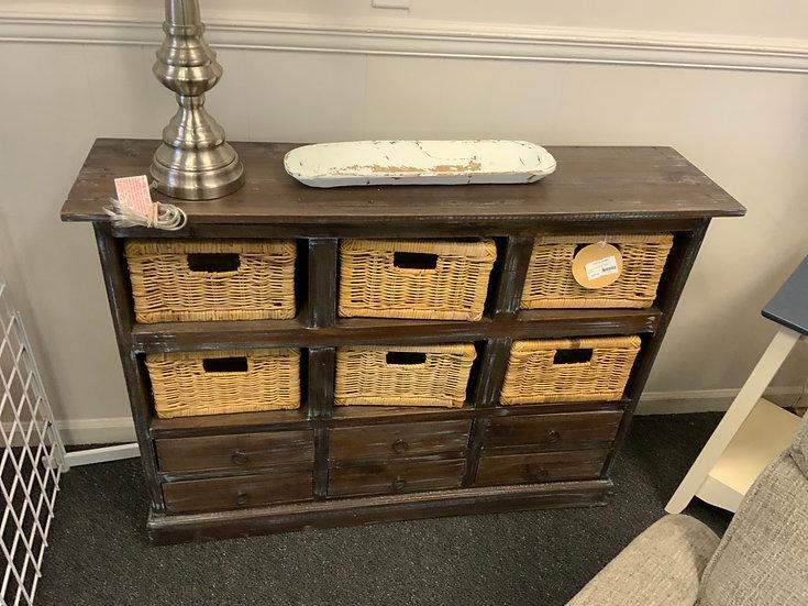 Cabinet w/6 baskets