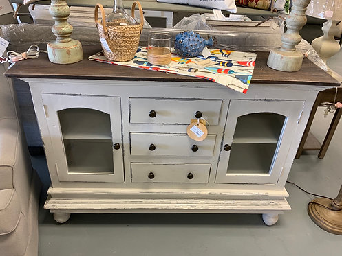 Glazed Sideboard (Pearly Gray)