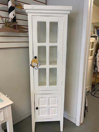 Glass door curio