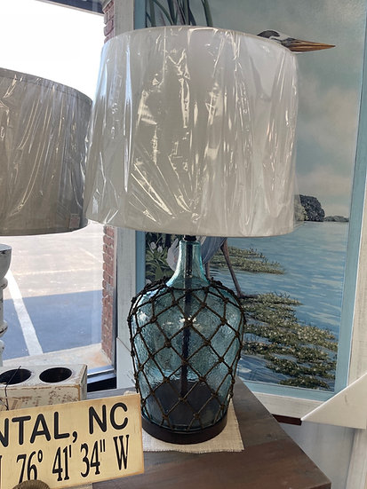 Cantos Blue table lamp