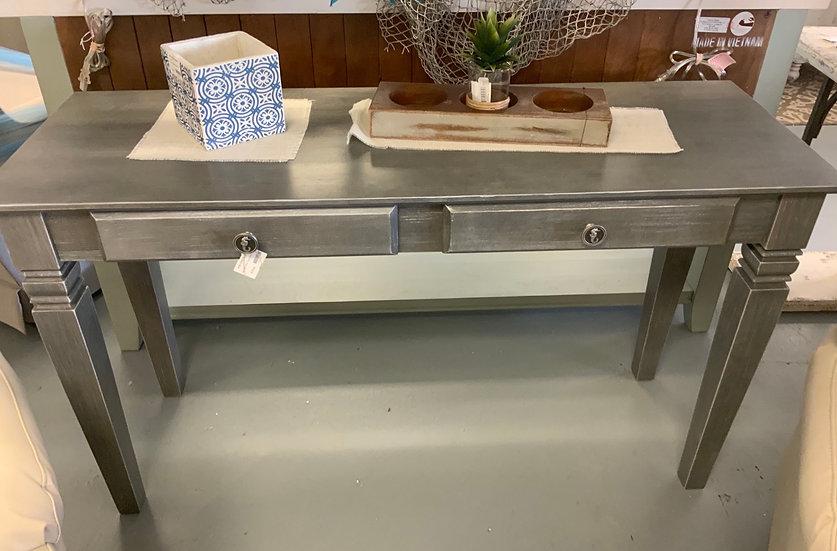 Gray java sofa table