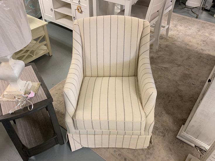Swivel Glide Chair Cream Grey