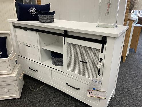 Stockton Dresser Vintage White