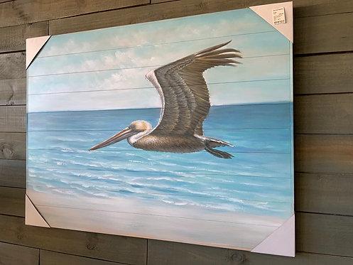 Beach Pelican Art