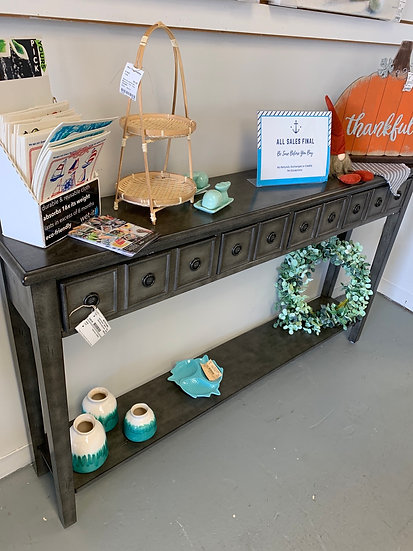Sadie Grey Console Table