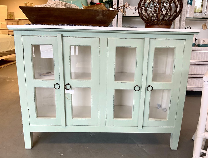 Sm. 4 Door Cabinet