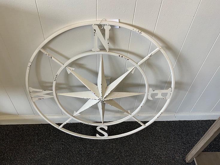 30inch White Compas