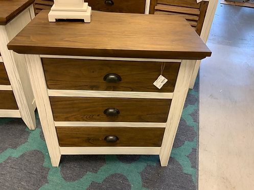 Tuscany Hill 3 Drawer Nightstand 63672