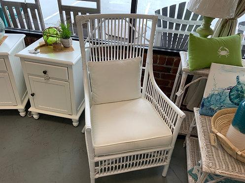 Winston Arm Chair White 64124