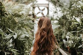 Woman in Plants