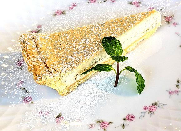 ロイヤルミルクティー・チーズタルト