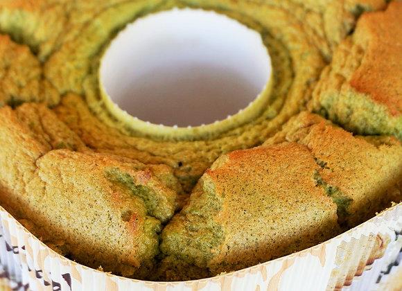 香り高い桑の葉茶のシフォンケーキ