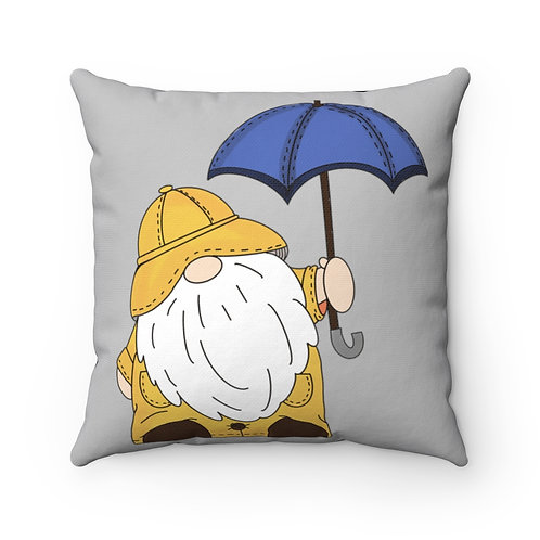 Gnome Pillow Cover, spring Pillow, gnomie cover, Barn Pillow cover