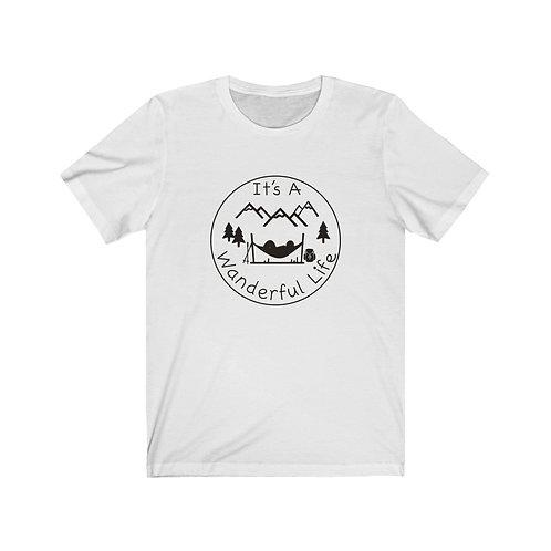 Fun Hiking shirt, Gift for hiker, wanderful life Shirt, Mountain tee