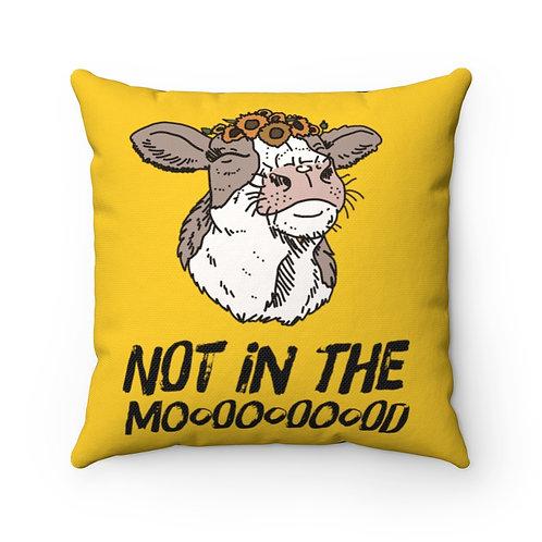 Not In The Moooood, Cow Decor, Farmer Decor, Southern Decor