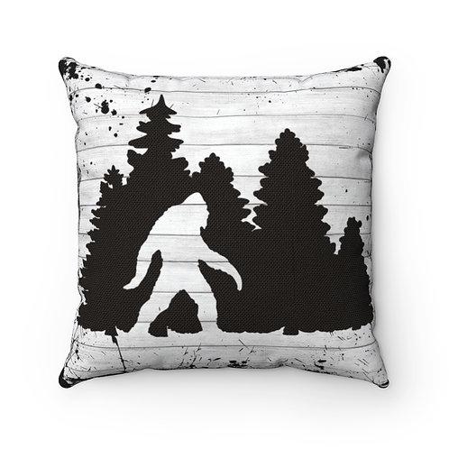 Big Foot, Camping Pillow Cover,Big Foot Decor, rustic decor, big foot lover