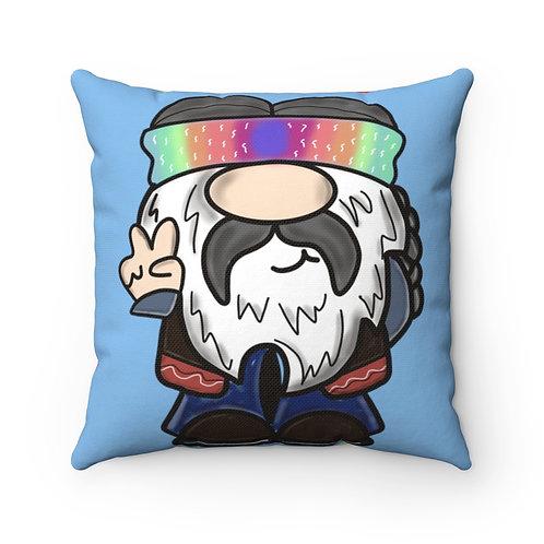 Gnome Pillow Cover, spring Pillow, gnomie cover, tie dye decor, hippie gnomie