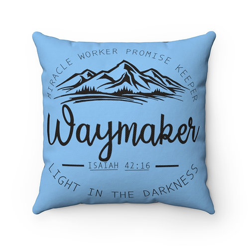 Miracle Worker, Promise Keeper, Way Maker, Barn Pillow cover