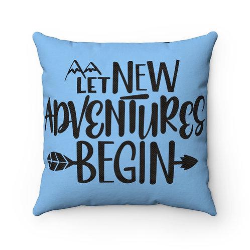 Farmhouse pillow cover,adventure cover, farmhouse pillow
