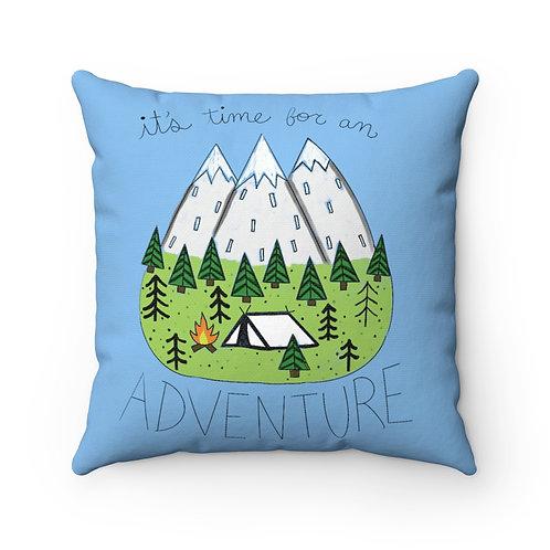 Farmhouse pillow cover,adventure cover, farmhouse pillow, camping Pillow