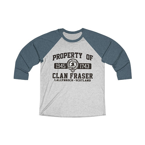 Property of Clan Fraser Shirt, LallyBroch Scotland shirt, Jamie Fraser Outlander