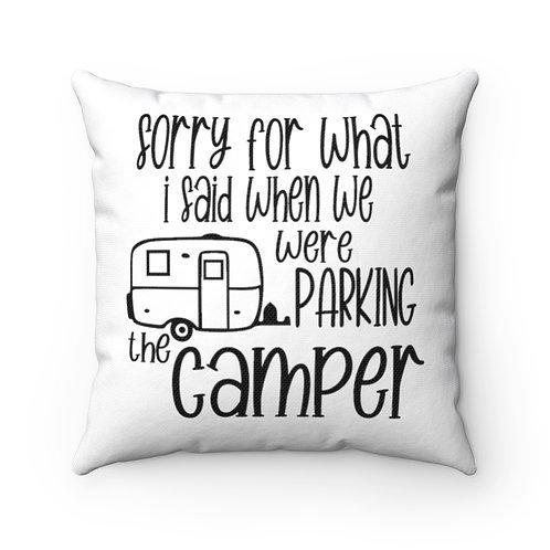 Camper Decor, Camping Pillow cover, RV Decor,Travel Trailer Pillow, Camper Gift