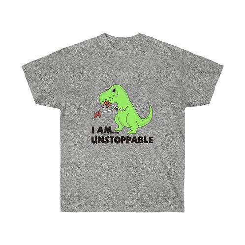 T-Rex T-Shirt with Green Dinosaur Shirt Funny Shirt Funny T-Rex Shirt