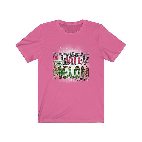Watermelon Crawl Shirt, melon bleached tee