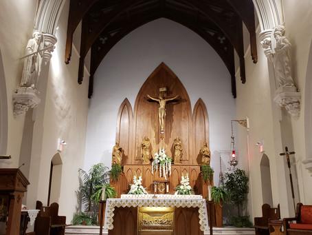 Celebrating Mass Together, Online