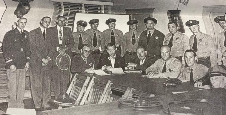 Piedmont - Police - April 5, 1949