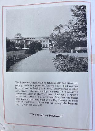 Ransom school - Piedmont - Realty Guilfo