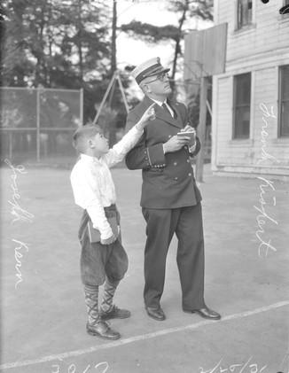 1931 - Piedmont School firetrap, Joseph Kern, Frank Kispert, R.C. Block, Victor Binrose.jp