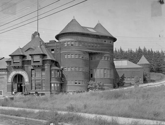 Picture - Piedmont baths - 1904 - Piedmont Baths. 24th Twenty-fourth and Harrison. Ca. 189