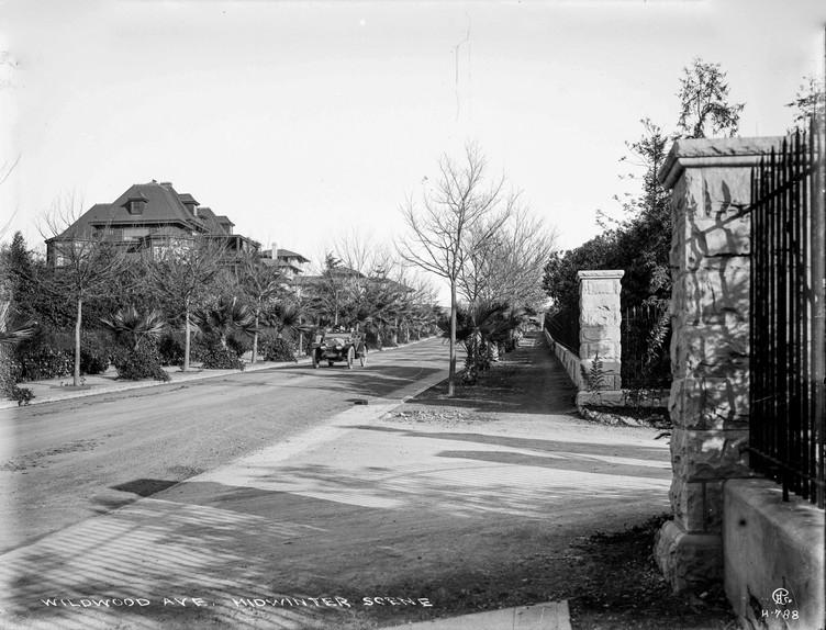 Piedmont - Wildwood Avenue 1910