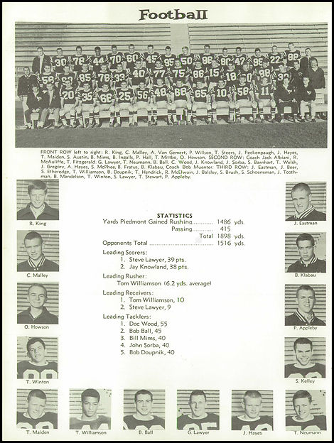 1963 - Tom Williamson -  POC - Yearbook_