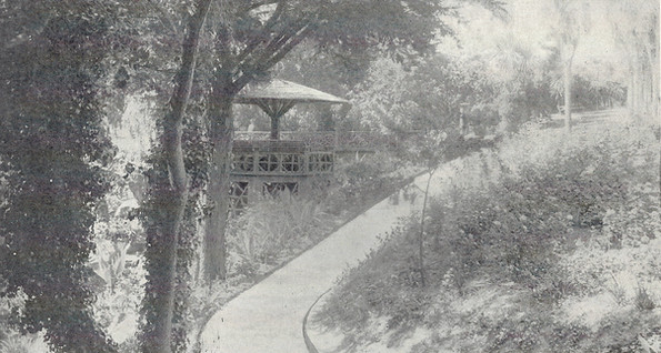 Postcard - Piedmont Park- Bandstand 2.jp