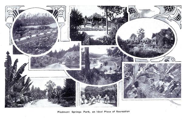 piedmont park 1902 - alameda county cali